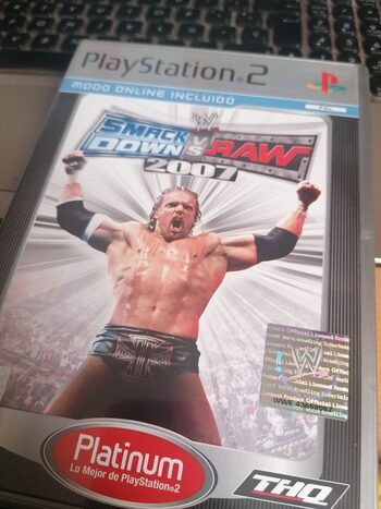 Smackdown vs RAW 2007 PlayStation 2