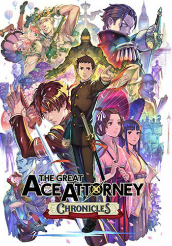 The Great Ace Attorney Chronicles Steam Key GLOBAL