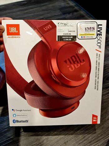Visiškai naujos (neišpakuotos) JBL LIVE500 BT Ausinės