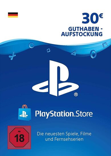 PlayStation Network Card 30 EUR (DE) PSN Key GERMANY