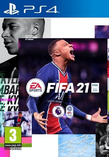 FIFA 21 - Pre-order Bundle Bonus (DLC) (PS4) PSN Key UNITED STATES