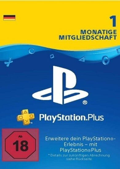 PlayStation Plus Card 30 Days (DE) PSN Key GERMANY