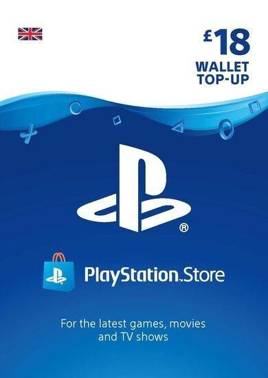 PlayStation Network Card 18 GBP (UK) PSN Key UNITED KINGDOM