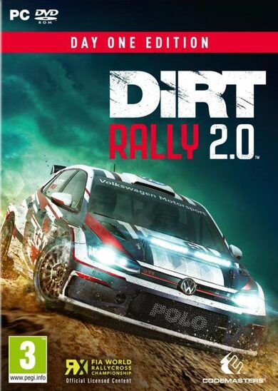 DiRT Rally 2.0 - Day One Edition Pre-order Bonus (DLC) Steam Key GLOBAL