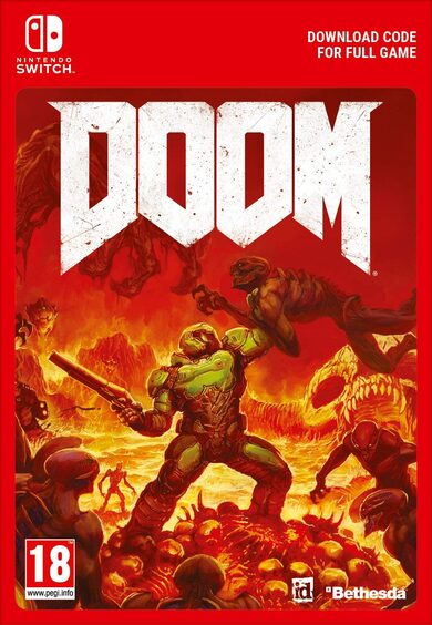 Doom (Nintendo Switch) eShop Key EUROPE