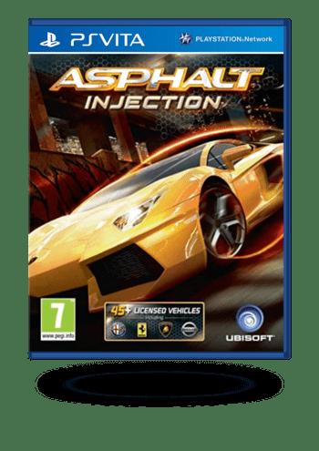 Asphalt Injection PS Vita