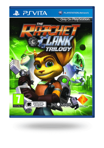 Ratchet & Clank: Trilogy PS Vita