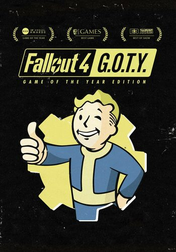 Fallout 4 (GOTY) clé Steam GLOBAL
