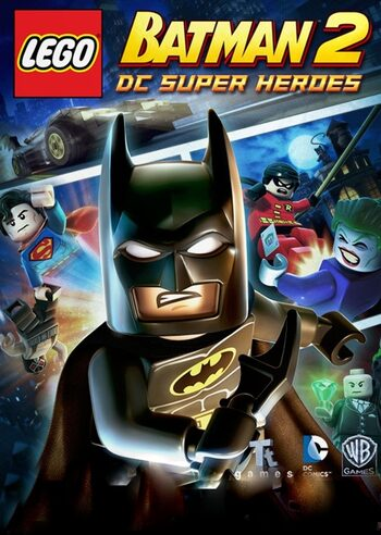 LEGO: Batman 2 - DC Super Heroes Steam Key GLOBAL