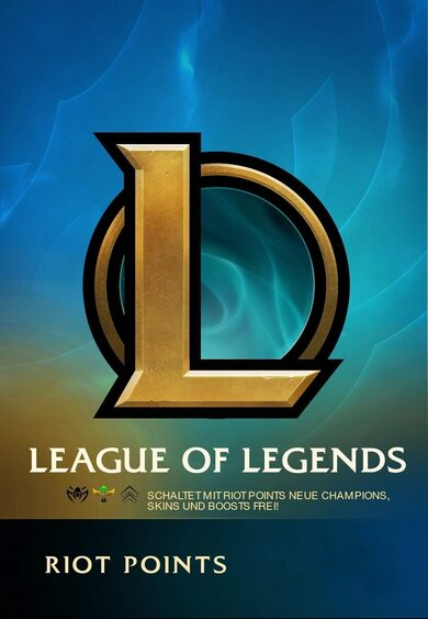 League of Legends Gift Card 400 Riot Points TURKEY Server Only