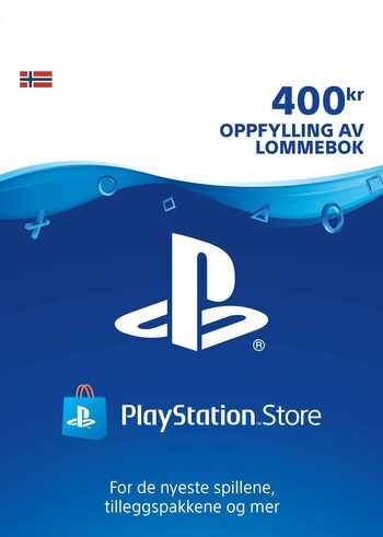 PlayStation Network Card 400 NOK (NO) PSN Key NORWAY