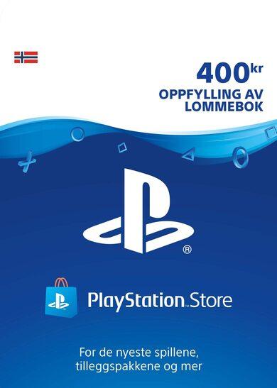 PlayStation Network Card 400 NOK (NO) PSN Key NORWAY