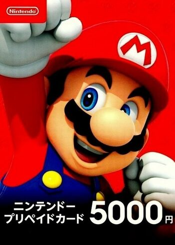 Nintendo eShop Card 5000 JPY Key JAPAN
