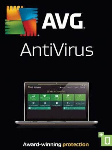 AVG Antivirus - 1 User 1 Year Key GLOBAL