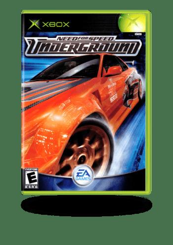 Need for Speed: Underground Xbox