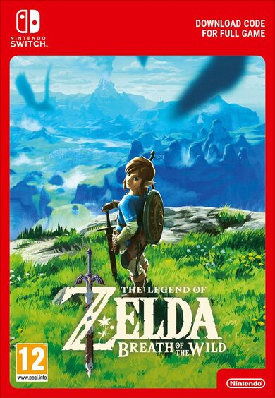 The Legend of Zelda: Breath of the Wild (Nintendo Switch) eShop Clave EUROPA
