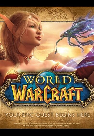 World of Warcraft Battle Chest + 30-days (For NEW accounts only) Battle.net Key EUROPE