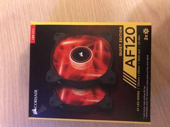 Corsair AF120 Quiet 120 mm Red LED Single PC Case Fan