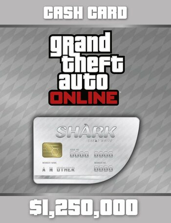 Grand Theft Auto Online: Great White Shark Cash Card Rockstar Games Launcher Key GLOBAL