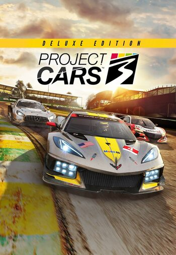 Project CARS 3 Deluxe Edition Steam Klucz GLOBAL