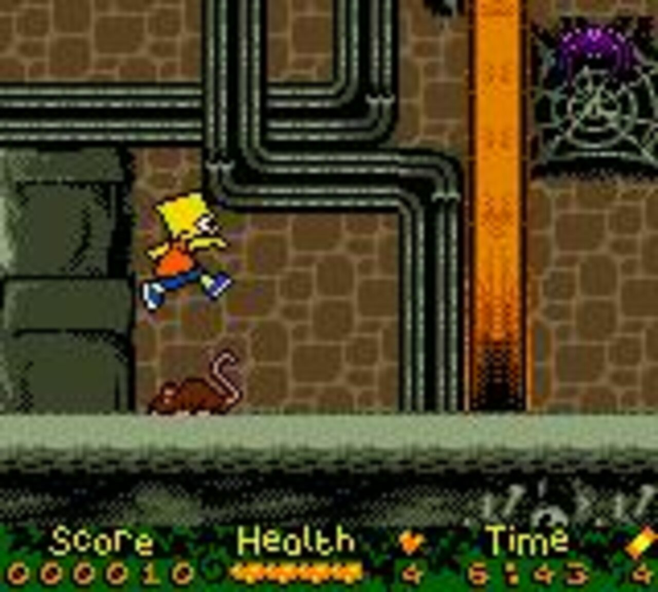 The Simpsons: Night of the Living Treehouse of Horror Game Boy Color