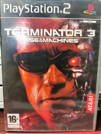 Terminator 3: Rise of the Machines PlayStation 2