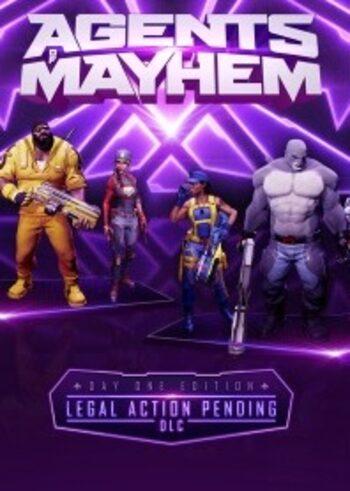 Agents of Mayhem - Legal Action Pending (DLC) Steam Key GLOBAL