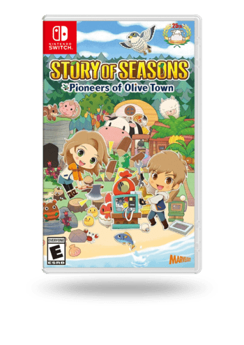 Story of Seasons: Pioneers of Olive Town Nintendo Switch