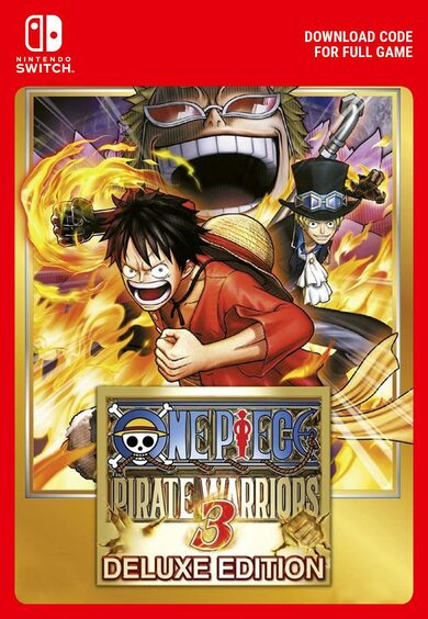 One Piece Pirate Warriors 3 Deluxe Nintendo Switch
