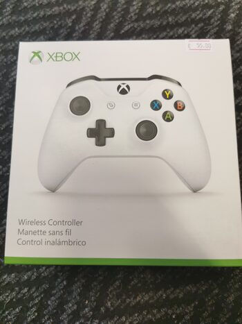 Xbox One V2 Baltas pultas pultelis controller bluetooth PC