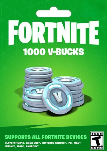 Fortnite - 1000 V-Bucks Gift Card Key GLOBAL