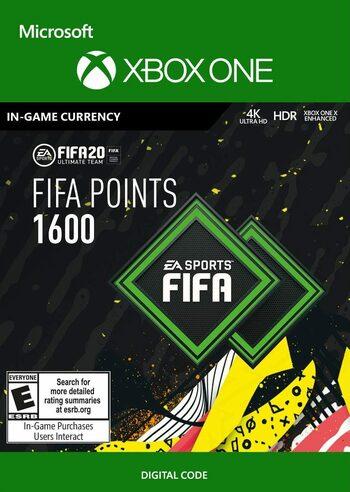 FIFA 20 - 1600 FUT Points (XBOX ONE) Xbox Live Klucz GLOBAL