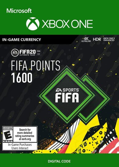 FIFA 20 - 1600 FUT Points (XBOX ONE) Xbox Live Key GLOBAL