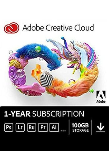 Adobe Creative Cloud All Applications 1 Year PC/MAC Key EUROPE