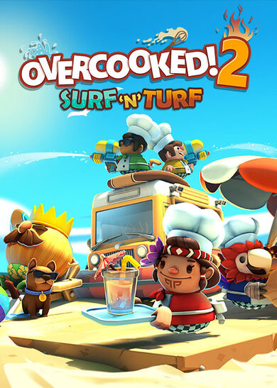 Overcooked! 2 - Surf 'n' Turf (DLC) Steam Key GLOBAL