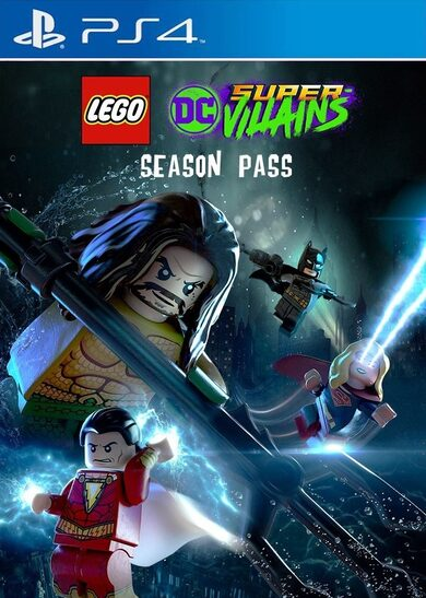 LEGO DC Super-Villains - Season Pass (DLC) (PS4) PSN Key EUROPE