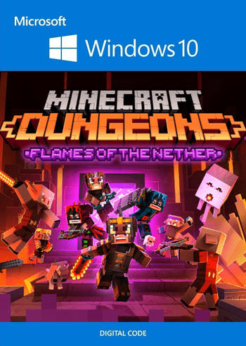Minecraft Dungeons: Flames of the Nether (DLC) - Windows 10 Store Key EUROPE