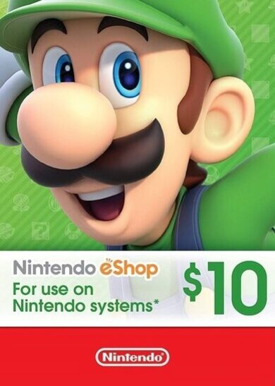 Nintendo eShop Card 10 USD Key NORTH AMERICA