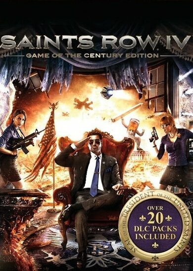 Saints Row IV: Game of the Century Edition Steam Key EUROPE