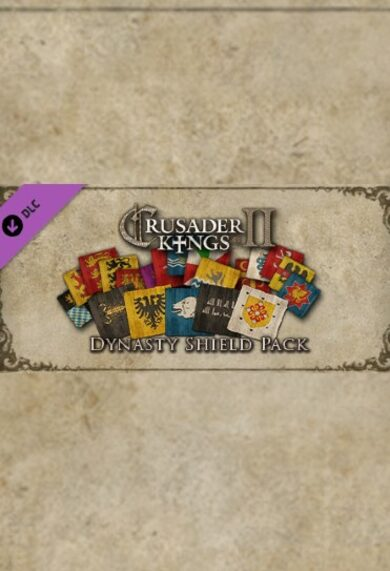 Crusader Kings II - Dynasty Shield Pack (DLC) Steam Key GLOBAL