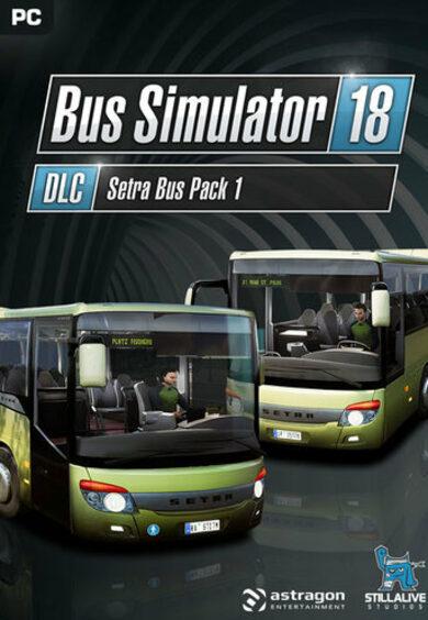 Bus Simulator 18 - Setra Bus Pack 1 (DLC) Steam Key GLOBAL