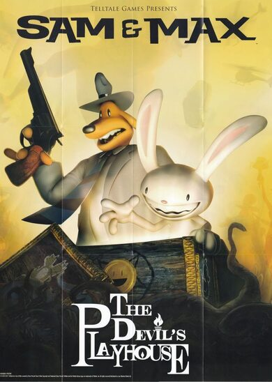 Sam & Max: The Devil's Playhouse Steam Key GLOBAL