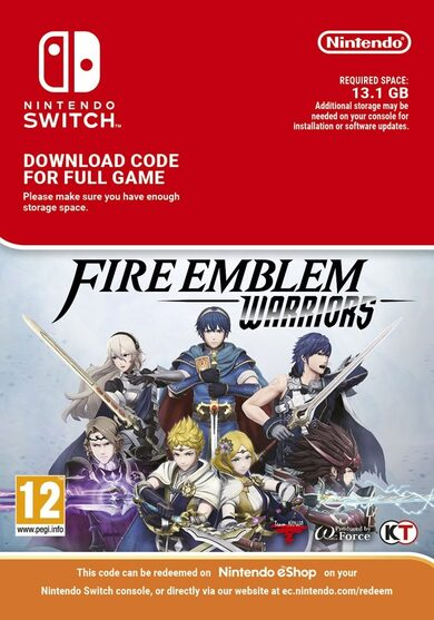 Fire Emblem Warriors (Nintendo Switch) eShop Key EUROPE фото