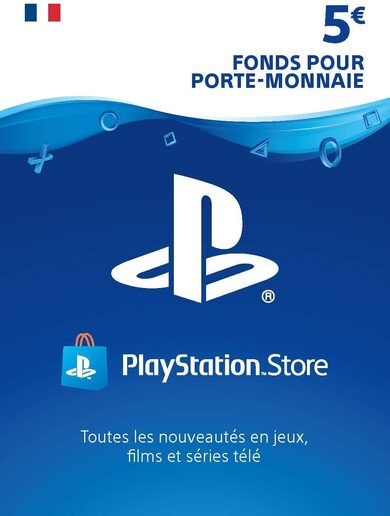 PlayStation Network Card 5 EUR (FR) PSN Key FRANCE