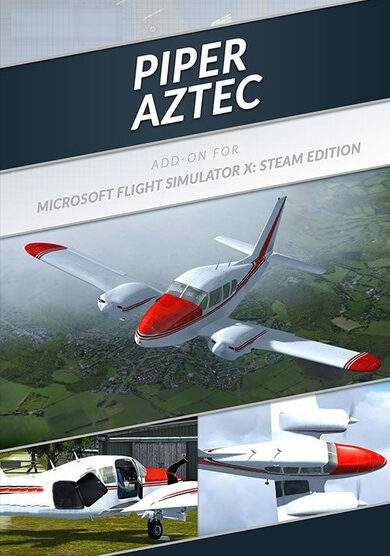 Microsoft Flight Simulator X: Steam Edition - Piper Aztec Add-On (DLC) Steam Key EUROPE