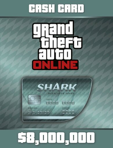 Grand Theft Auto Online: Megalodon Shark Cash Card Rockstar Games Launcher Key GLOBAL
