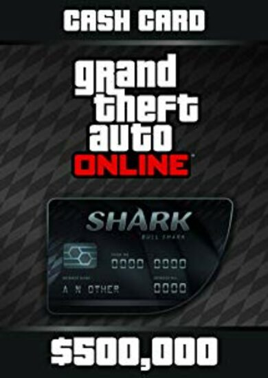 Grand Theft Auto Online: Bull Shark Cash Card Rockstar Social Club Key GLOBAL