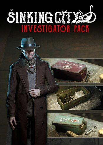 The Sinking City - Investigator Pack (DLC) Epic Games Key GLOBAL