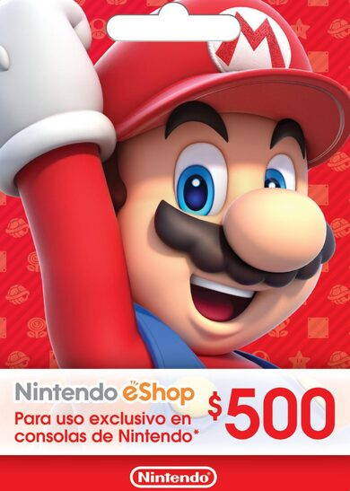 Nintendo eShop Card 500 MXN Key MEXICO