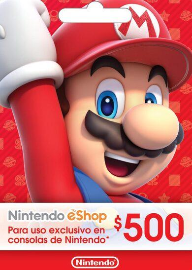 Nintendo eShop Card 500 MXN Key MEXICO